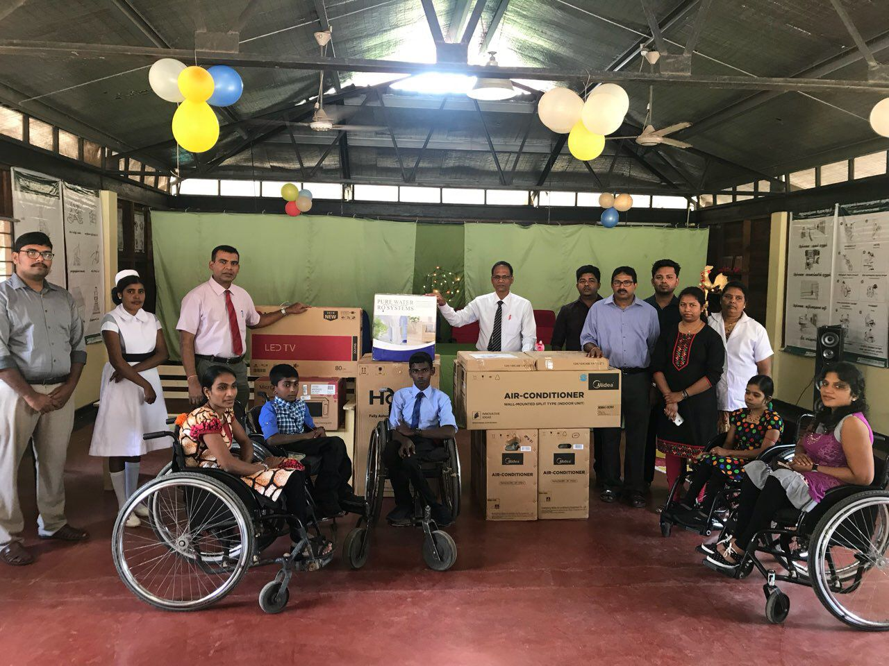 Donation of patient care items to Vavuniya Hospital