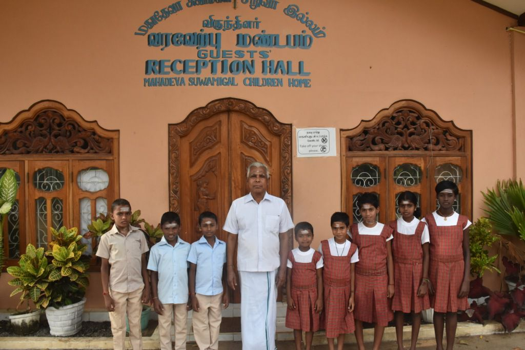 Educational Assistance / Child Sponsorships in Mahadeva Archiramam at Kilinochchi